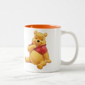 Winnie the Pooh 8 Taza De Café De Dos Colores