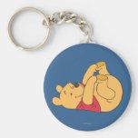 Winnie the Pooh 9 Llavero Redondo Tipo Pin