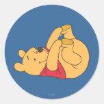 Winnie the Pooh 9 Pegatina Redonda