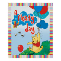 Winnie the Pooh | A Floaty Day Poster