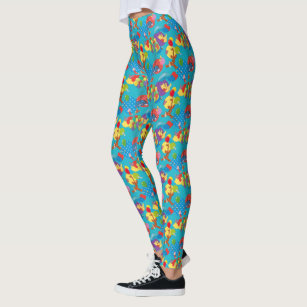 d54abaf99d677 Winnie the Pooh   Among the Balloons Pattern Leggings