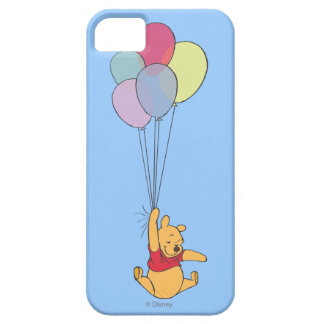 Winnie the Pooh and Balloons iPhone 5 Cases