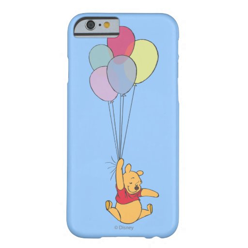 Winnie the Pooh and Balloons iPhone 6 Case