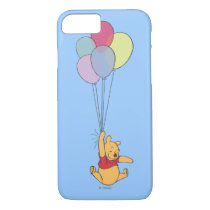 Winnie the Pooh and Balloons iPhone 7 Case