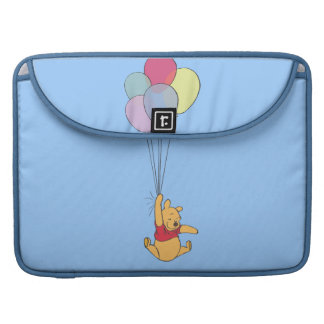 Winnie the Pooh and Balloons MacBook Pro Sleeves