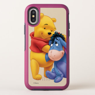 Winnie the Pooh and Eeyore OtterBox Symmetry iPhone X Case