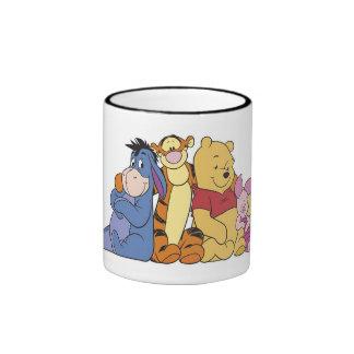 Winnie the Pooh and Friends Ringer Mug