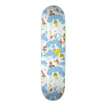 Winnie the Pooh | At the Honey Tree Pattern Skateboard