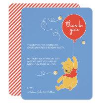 Winnie the Pooh | Baby Boy- Thank You Invitation