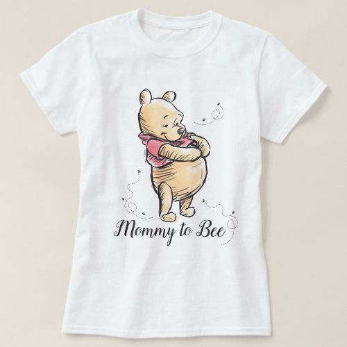 Winnie the Pooh Baby Shower  Mommy to Bee T_Shirt