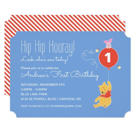 Boy First Birthday Invitations Announcements – 1st Birthday Invitation Cards for Baby Boy