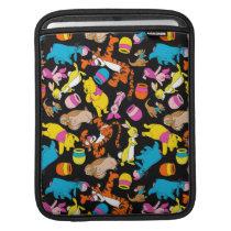 Winnie the Pooh | Bright Friends Pattern iPad Sleeve