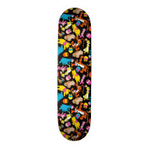 Winnie the Pooh | Bright Friends Pattern Skateboard