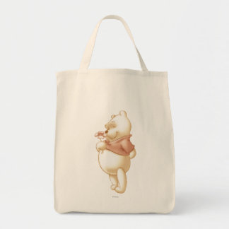 Winnie the Pooh clásico 1 Bolsa Tela Para La Compra