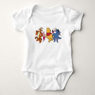 Winnie the Pooh Crew Baby Bodysuit