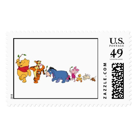 Winnie the Pooh Crew Postage