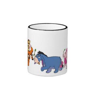 Winnie the Pooh Crew Ringer Coffee Mug