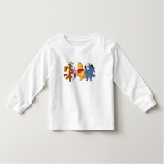 Winnie the Pooh Crew Toddler T-shirt at Zazzle
