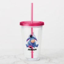 Winnie the Pooh | Eeyore Smile - Add Your Name Acrylic Tumbler