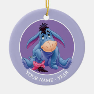Winnie the Pooh | Eeyore Smile Ceramic Ornament