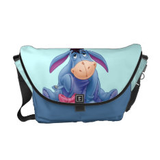 Winnie The Pooh | Eeyore Smile Courier Bag at Zazzle