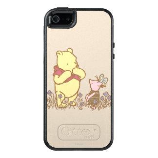 Winnie the Pooh el   bah y cochinillo en obra Funda Otterbox Para iPhone 5/5s/SE