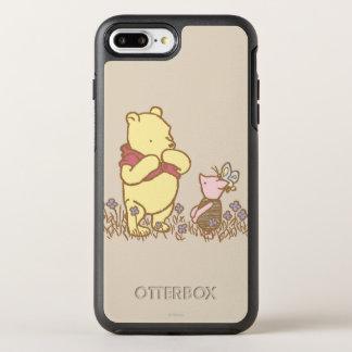 Winnie the Pooh el   bah y cochinillo en obra Funda OtterBox Symmetry Para iPhone 7 Plus
