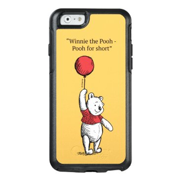 Winnie the Pooh for Short OtterBox iPhone 6/6s Case