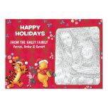 Winnie the Pooh & Friends: Happy Holidays Card