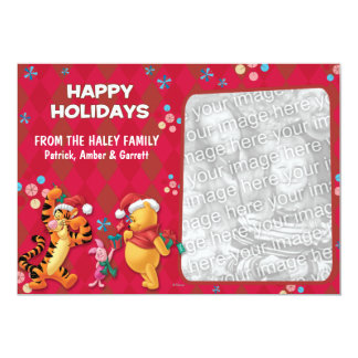 Winnie the Pooh & Friends: Happy Holidays Card
