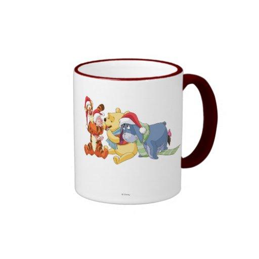 Winnie The Pooh & Friends Holiday Mug