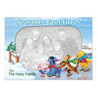 Winnie the Pooh & Friends: Season's Greetings Card