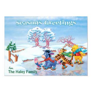 Winnie the Pooh & Friends: Season's Greetings Card Announcements