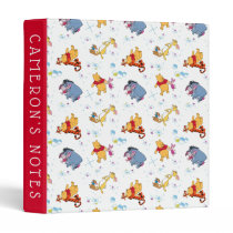 Winnie the Pooh | Hanging with Friends Pattern 3 Ring Binder