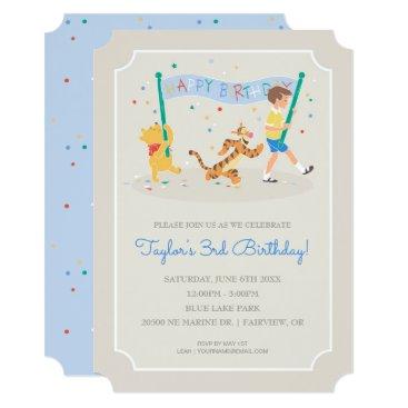 disney Winnie the Pooh | Happy Birthday Card