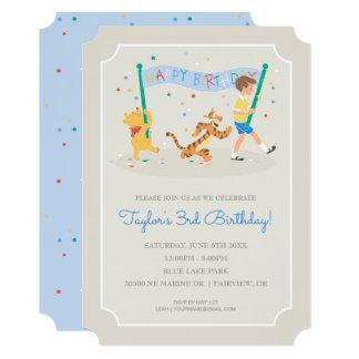 Winnie the Pooh | Happy Birthday Card