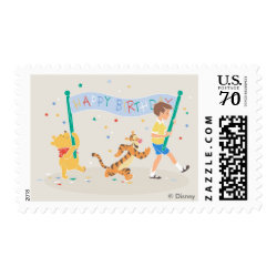 Medium Stamp 2.1' x 1.3' with Birthday Invitations design
