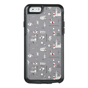 Winnie the Pooh   Hello Friends Grey Pattern OtterBox iPhone 6/6s Case