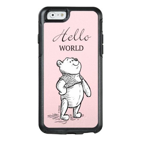 WINNIE THE POOH QUOTE 1 iphone case