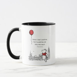 The Quote Mug Know Winnie PoohI Need Don't One w0nPO8k