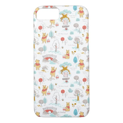 Winnie the Pooh   In the Hundred Acre Wood Phone Case