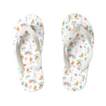 Winnie the Pooh | In the Hundred Acre Wood Kid's Flip Flops