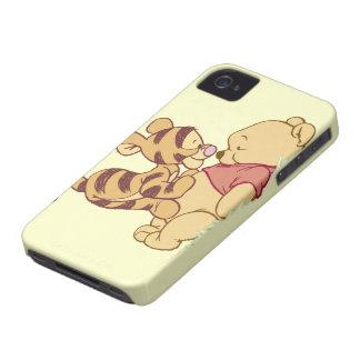 Winnie the Pooh joven Case-Mate iPhone 4 Coberturas