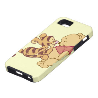 Winnie the Pooh joven iPhone 5 Protectores