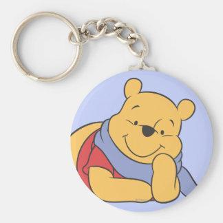 Winnie the Pooh Llavero Redondo Tipo Pin