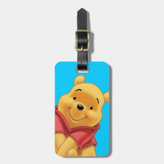 Winnie The Pooh Luggage Tag at Zazzle