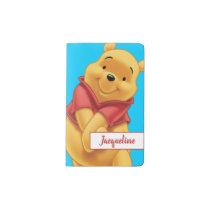Winnie the Pooh - Name Pocket Moleskine Notebook