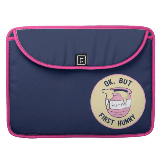 Winnie The Pooh | OK, But First Hunny Sleeve For MacBook Pro