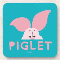 Winnie the Pooh | Peek-a-Boo Piglet Beverage Coaster
