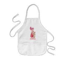 Winnie the Pooh | Piglet Christmas Lights Kids' Apron